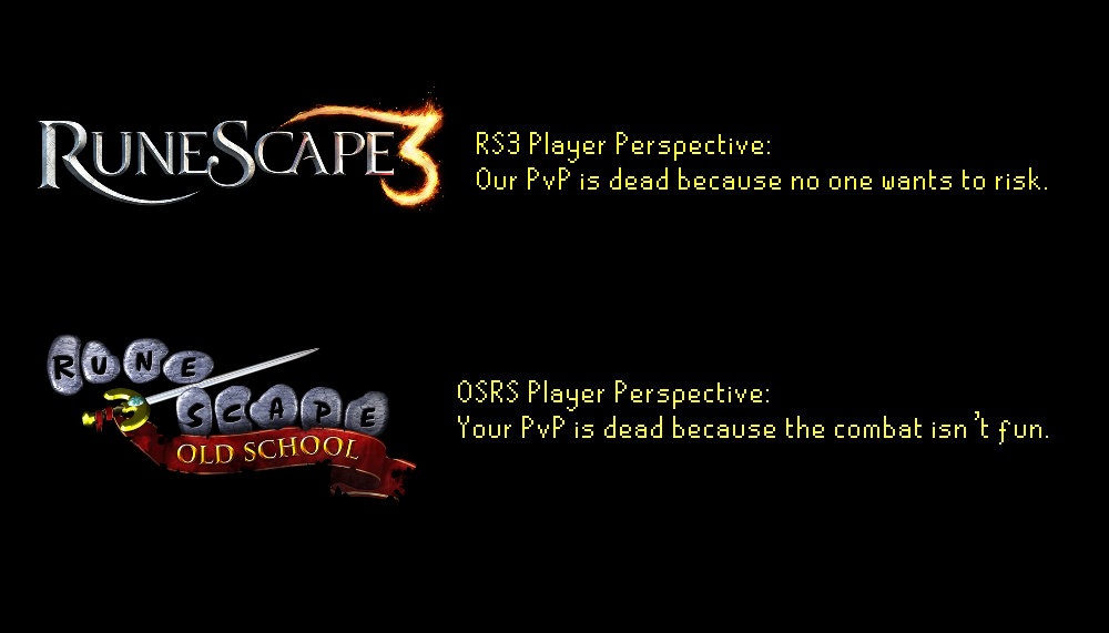OSRS vs RS3 pvp